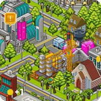 pixel, pixel people, pixel art, City Builder, iPad game, review