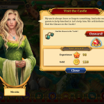 Love and Dragons, hidden object game
