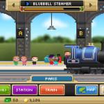 Pocket Trains, pixel art, pixel game, snake game, NimbleBit, android game. iPad game, iphone game, review